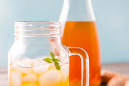 A NATURAL ELECTROLYTE DRINK RECIPE: THE GINGER SWITCHEL