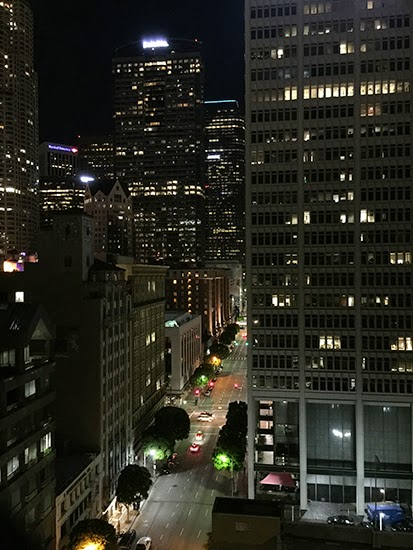 Los Angeles Athletic Club Skyline Downtown