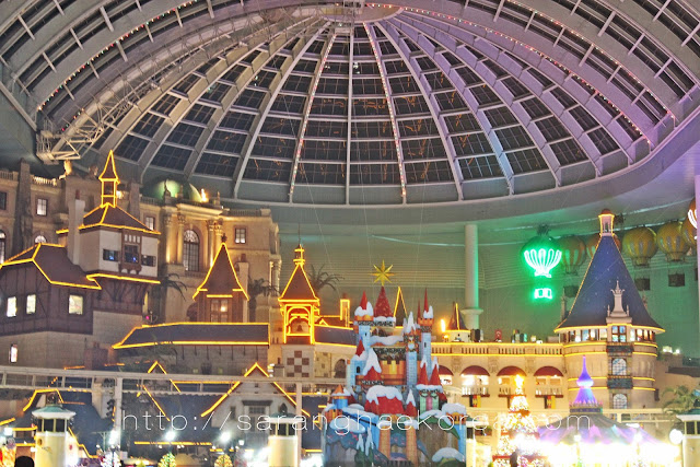 The Indoor Adventure of Lotte World Korea