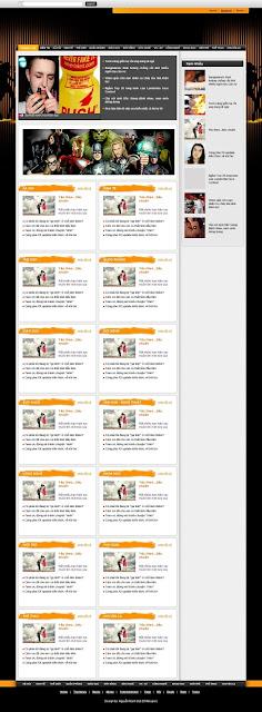 Trang chủ tin tức đẹp, theme tin tuc dep cho blogspot