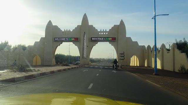 Driving to Bamako