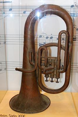 Instrumento de música del museo de las Cortes de Cádiz