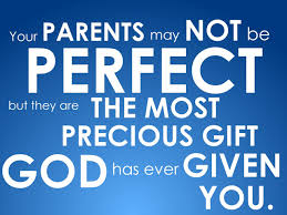 parents may not be perfect