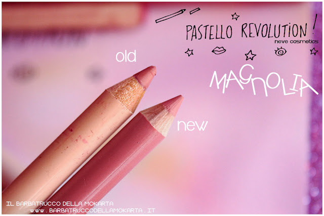 magnolia differenze BioPastello labbra Neve Cosmetics  pastello revolution
