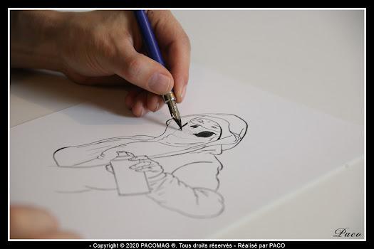 Encrage par Paco Illustrateur Graphiste