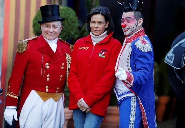 President, Princess Stephanie of Monaco attended the launch of the 44th International Circus Festival in Monte-Carlo