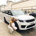 Femi Otedola gifts his daughter, DJ Cuppy a new 2018 Range Rover Sports