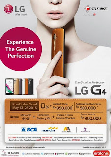 Promo Preorder LG G4 Smartphone Android Lollipop