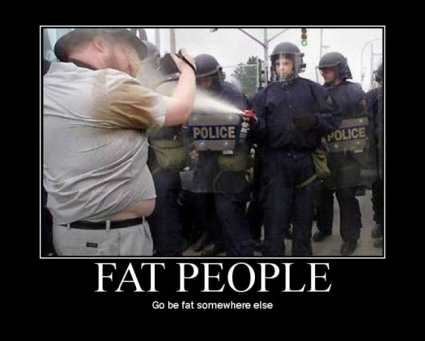 Fat people, stairs and backs.......(the follow up)
