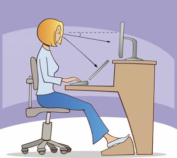 Som drets som lluita la ergonom a en la oficina for Ergonomia en el trabajo de oficina