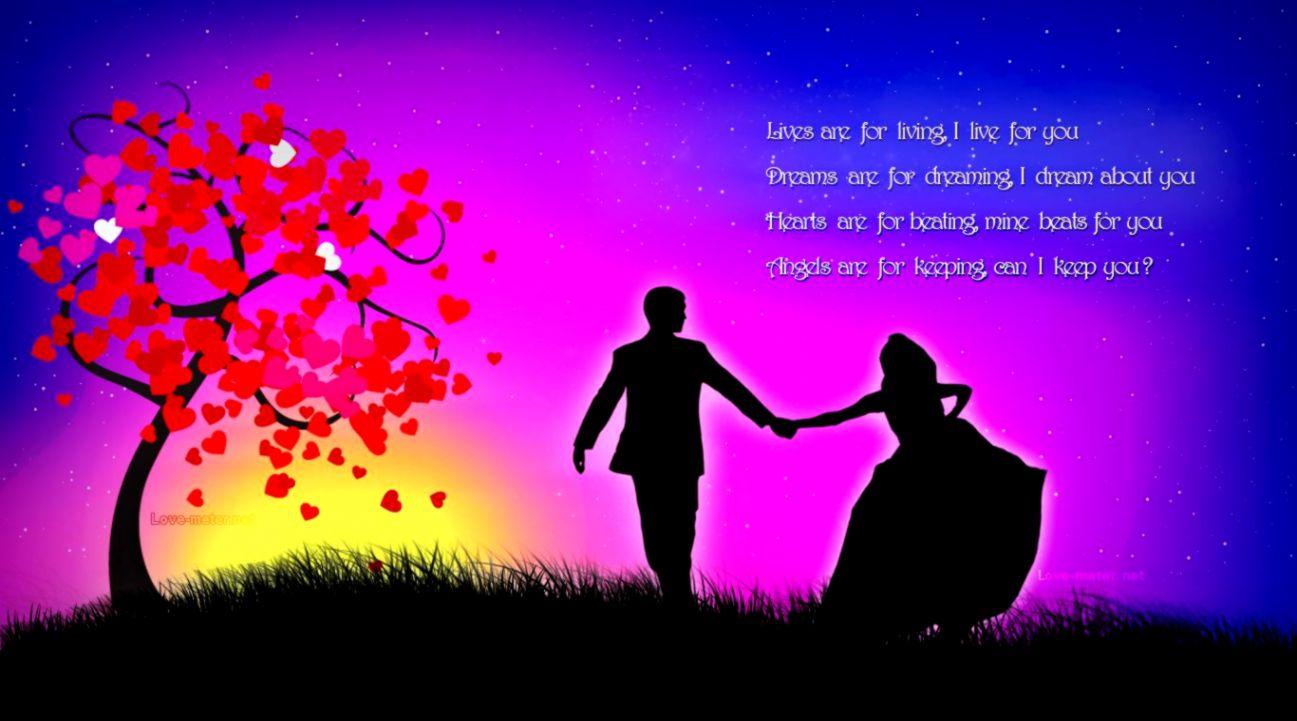 410+ Romantic Love Wallpaper For Desktop HD Terbaik