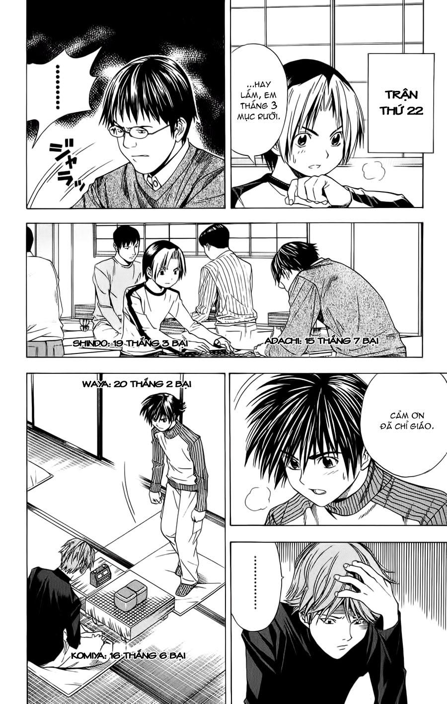 Hikaru No Go hikaru no go chap 88 trang 4