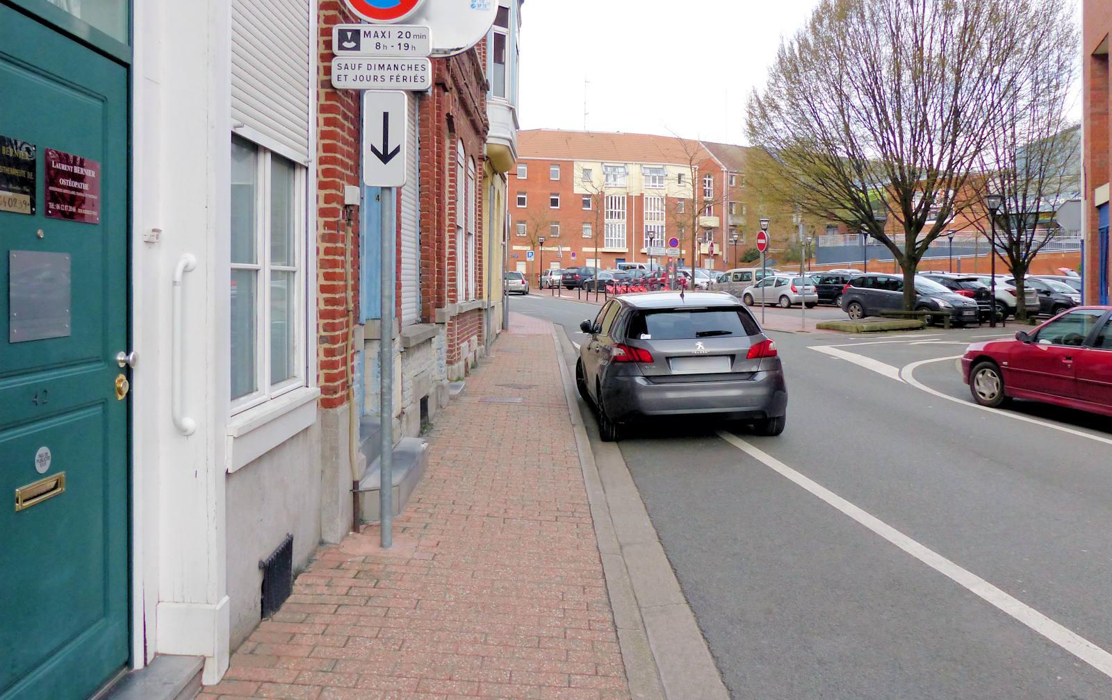 Ostéopathe Tourcoing Bernier - Parking.