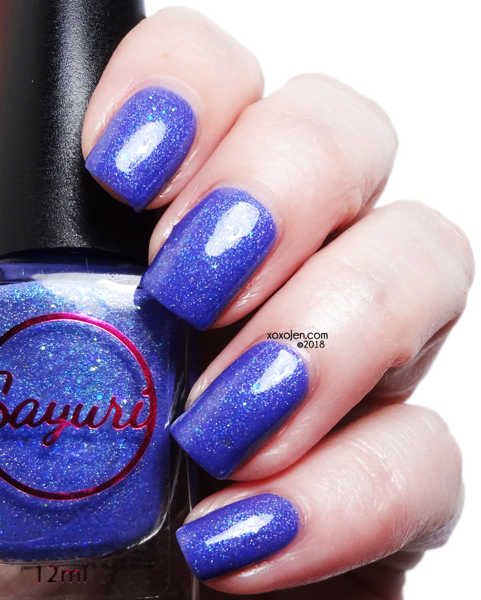 xoxoJen's swatch of Sayuri Nail Lacquer The Rough Stone Within