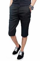 Alfacart Celana Pendek Chino Pants Hitam ANDHIMIND