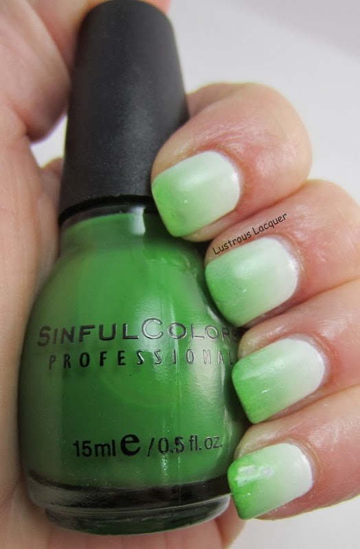 Lustrous-Lacquer-Green-white-gradient