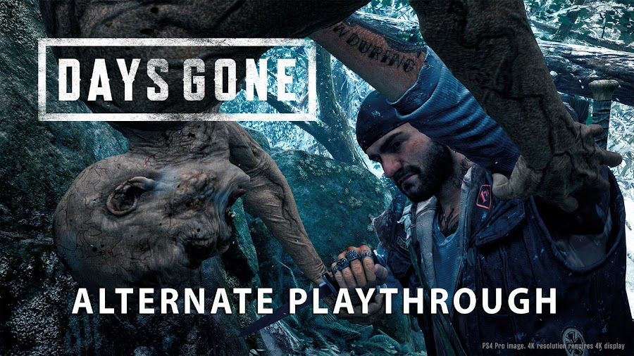 days gone alternate playthrough trailer