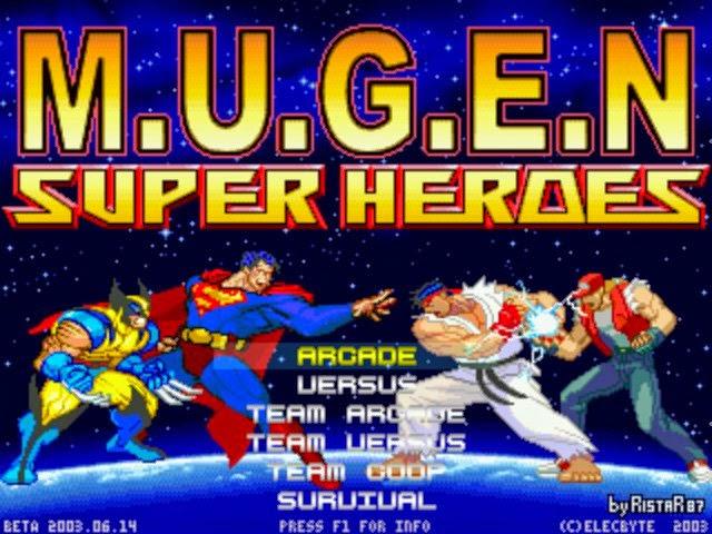 RistaR87's M U G E N: Super Heroes M U G E N by RistaR87