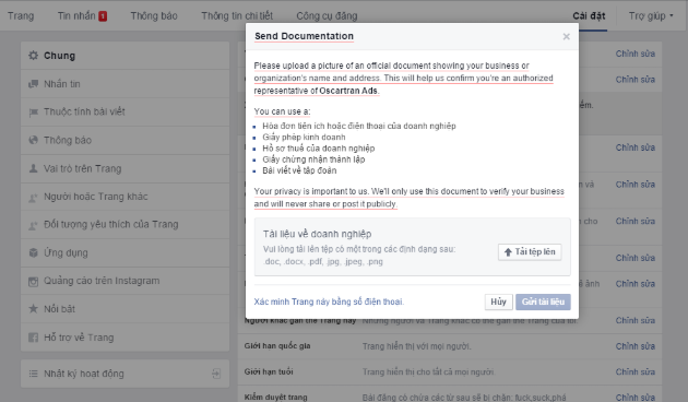 cách tạo dấu tích v xanh cho facebook như thế nào
