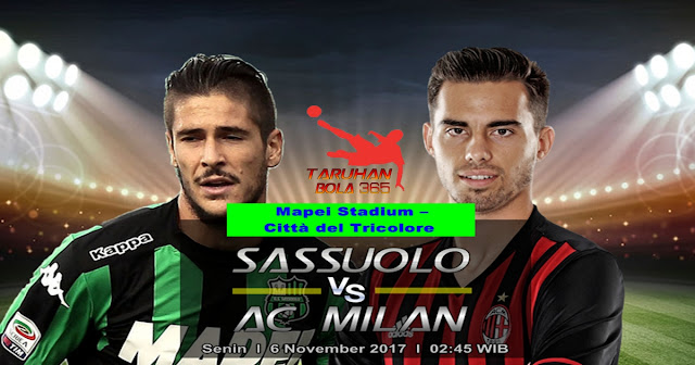 Sassuolo vs AC Milan 6 November 2017