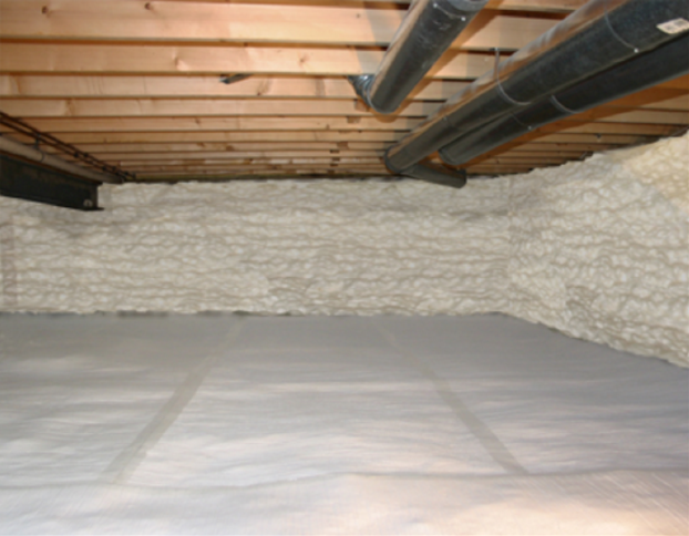 How to Insulate a Crawl Space With a Dirt Floor
