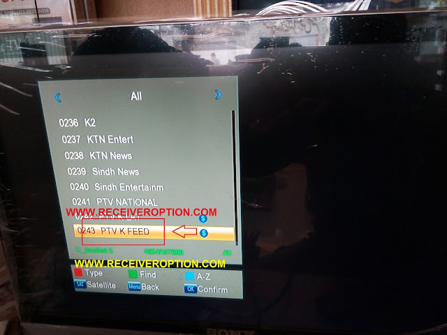 STARSAT 9800 HD RECEIVER BISS KEY OPTION