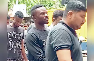 Nine Nigerian Drug Dealers Apprehended In India