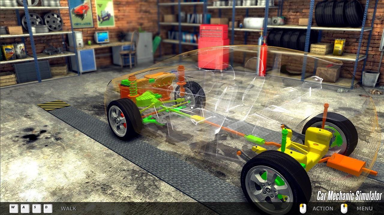 car mechanic simulator 2016 تحميل لعبة