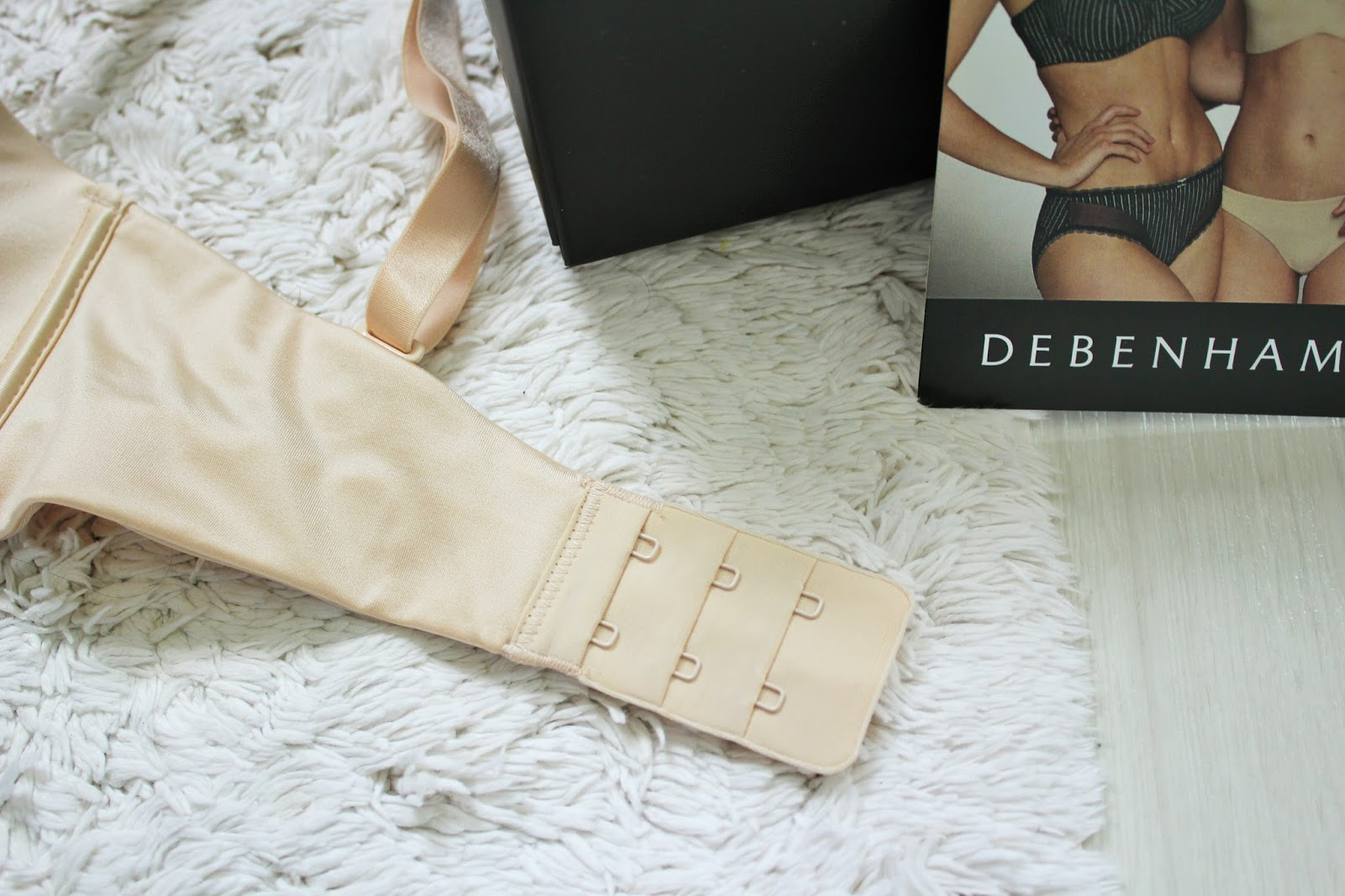 Debenhams Bra Fit Campaign Plus Giveaway! #knowyoursize 8 24 Hour Strapless Bra