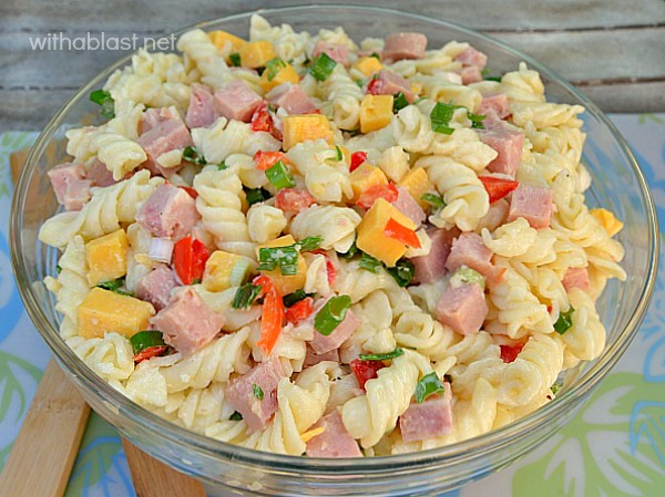 How To Make Ham And Cheese Pasta Salad Howsto Co