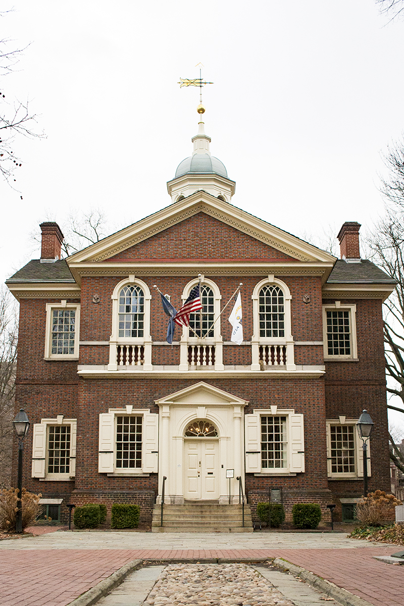 Carpenters' Hall, Philadelphia, Old City