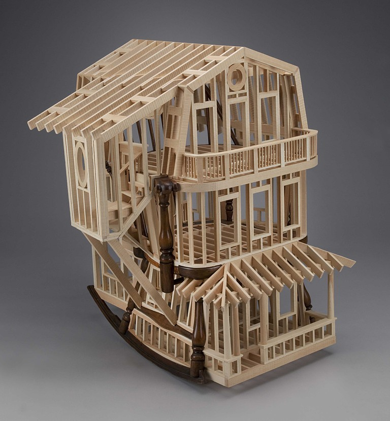 04-Habitation-Ted-Lott-Architecture-in-Upcycled-Furniture-and-Suitcase-Sculptures-www-designstack-co