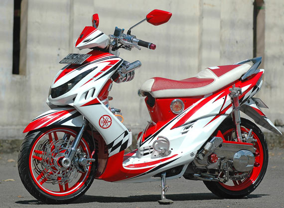 referensi modifikasi cat mio sporty