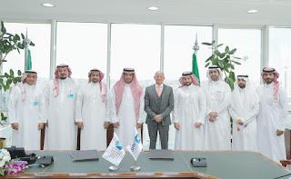"""""""إعادة التمويل العقاري"""" توقع اتفاقية شراكة مع """"السعودي الفرنسي"""" أخبار 2417/10/2018 270 0  غرِّد"""