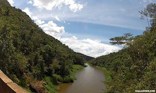 Rio entre Barão de Cocais/MG e Santa Bárbara/MG.