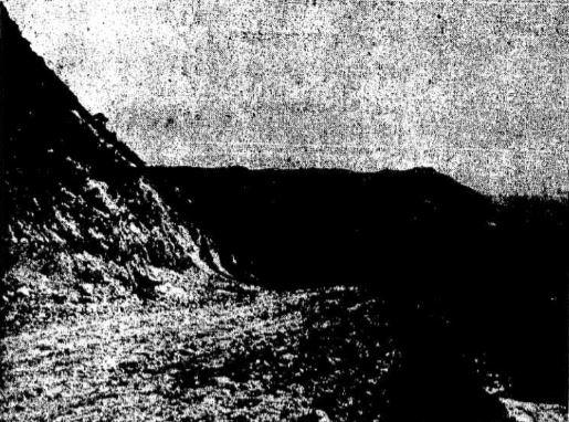 Trecho não asfaltado da estrada em imagem de 1962. Foto: acervo do jornal O Estado de S.Paulo