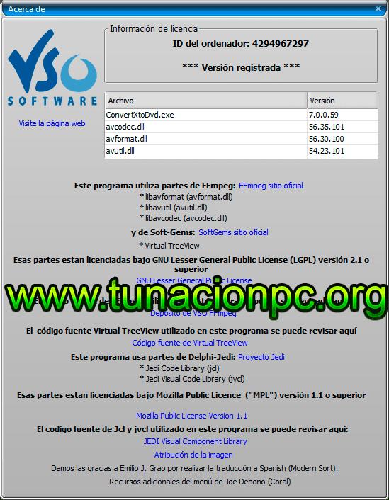 Descargar VSO ConvertXtoDVD Free (Gratis)
