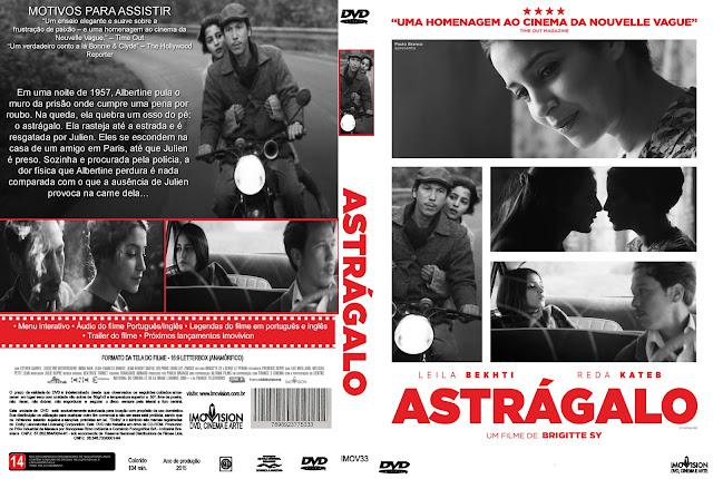 Capa DVD Astrágalo
