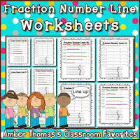 https://www.teacherspayteachers.com/Product/Fraction-Number-Line-Worksheets-690374