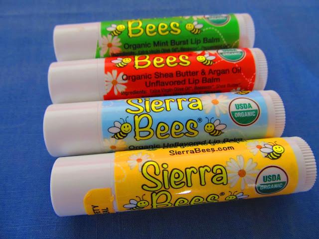 Натуральні бальзами з айхерб від Sierra Bees