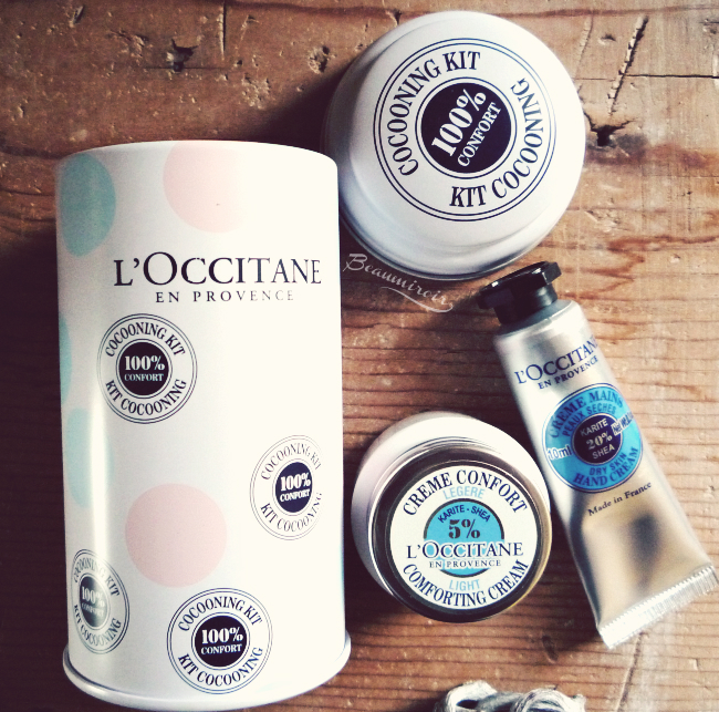 Free L'Occitane Shea Butter Hand Cream and Light Comforting Cream