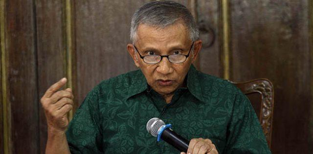 Amien Rais: Ide Jokowi Bakal Buat Indonesia Jadi Jongos Cina