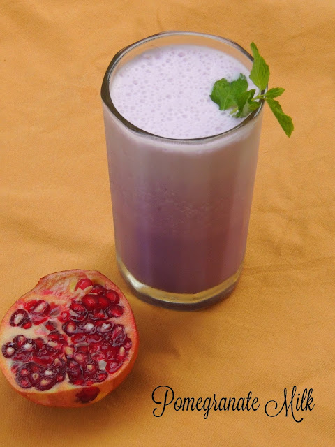Pomegranate Milk, Vegan Pomegranate Milk