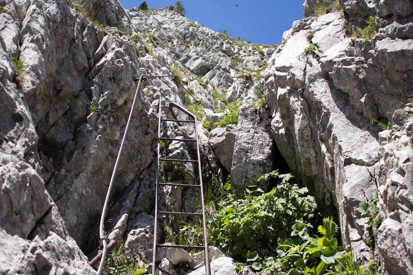 Südwandsteig Schrabachersteig Pfaffenstein Eisenerz
