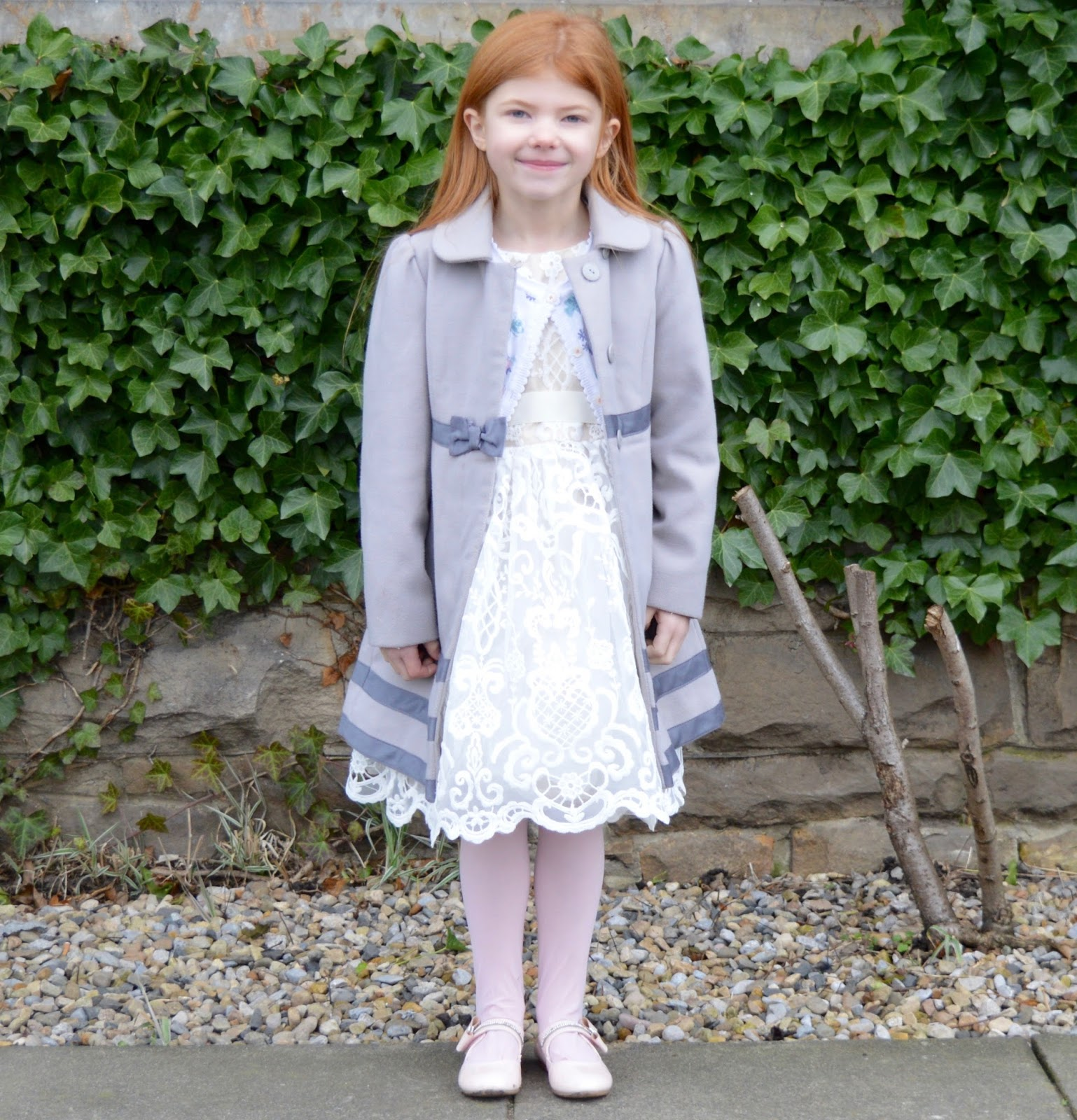 A Girl's Christmas Party Dress from Roco Clothing
