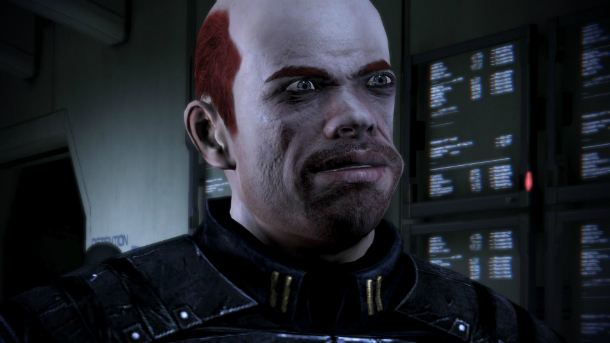 ugly commander sheppard mass effect