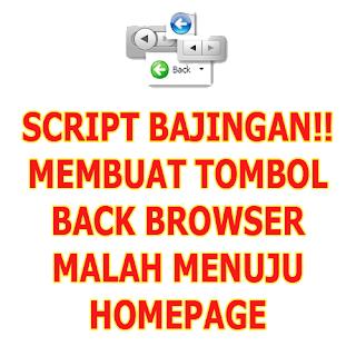 Cara Membuat Tombol Back di Browser menuju Homepage
