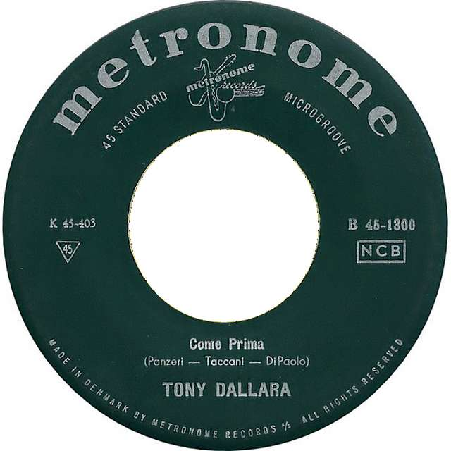 Come Prima. Tony Dallara