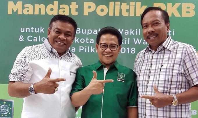 Jelang Pendaftaran, Fahsar Terima SK Pencalonan dari Golkar dan PKB