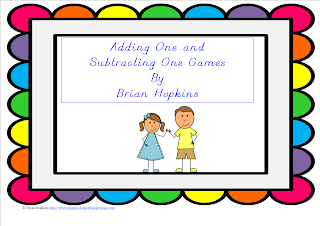 FREEBIE Adding One and Subtracting One games